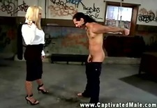 mistress fond of hard whipping