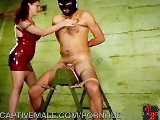 Punishes His Tiny Cock