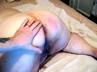 on mothers day hubby got to spank me