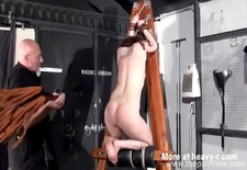 Dungeon slave getting whipped