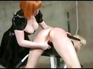 chained spanked and electrified