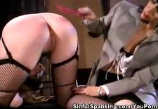office spanking fetish