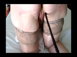 hard whipping of amateur slave