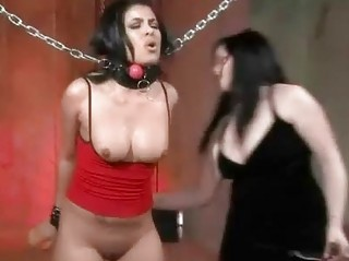 Chained Spanked And Fingered