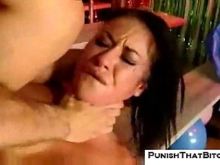 Isis monroe gets punished in the ass