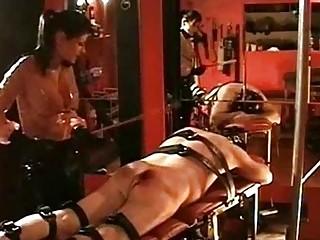 Mistress dometria spanking her slave part 2