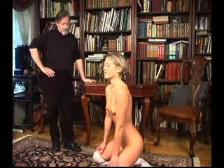 Blonde receives her punishment from wwwbdsmfindercom