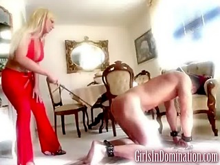 kinky spanking for submissive dude