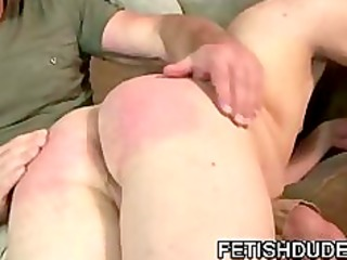 sean michael bradley: sugar daddy spanking a skanky twink