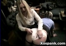 spanking fetish hardcore for crispy young hottie
