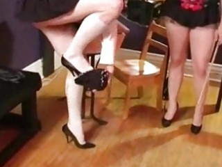Sissy wimp boy gets spanked