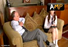 english schoolgirl gets spanked