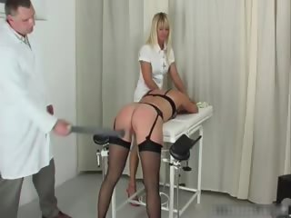 Dirty babe is bound and spanked  part4