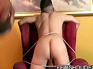 tj gold and hole hunter: interracial bdsm and whipping