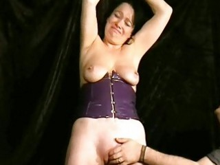 Whipping to tears of mature amateur slave china