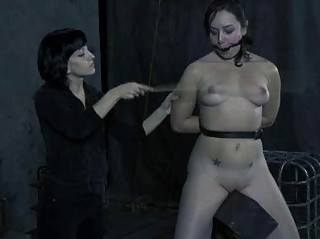 Lesbian BDSM Punishments Slave Elise Graves as a Mistress