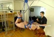 kinky babe thrilled when tortured
