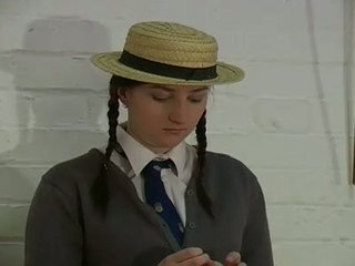 Pigtail Schoolgirl Punished