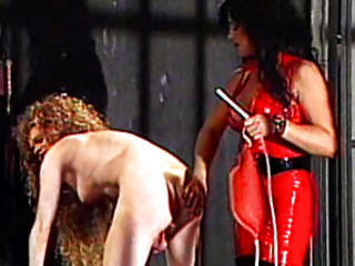 Claudia More Gets Spanked By Mistress Jean