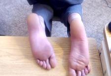 bastinado-whipped soles