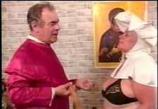 priest whipping fat nun&s ass