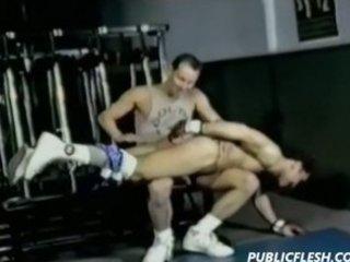 Vintage Homosexual Jock Spanking