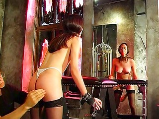 sexy butt gets spanked well