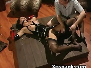 Bondage Slut Spanked Wildly