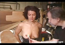 gorgeous milf ass spanked and dominated