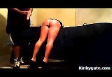 spanking her beautiful slutty ass real hard