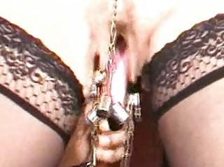 Mature slave pussylips punishment