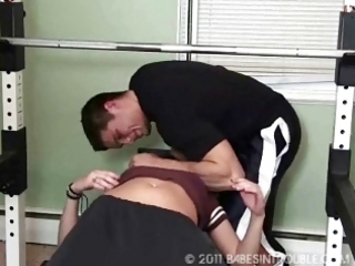 Big boobs bound and spanking