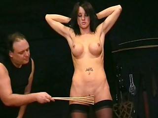 Spanking of Submissive Daniella