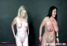 spanking two amateur slavegirls and hardcore corporal