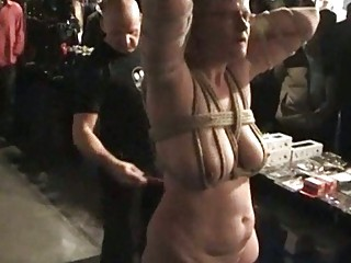 Public Whipping of European slavegirl