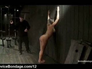 Huge tits Trina Michaels ass flogged in dungeon