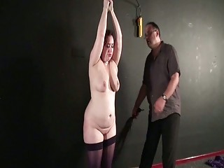Breast Whipped Slavegirl