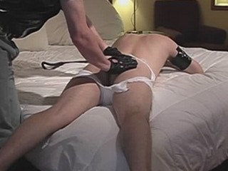 Lycan Gets Whipped By Shadow And Sucks Cock With Leash On