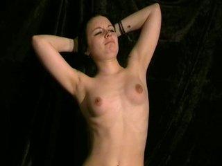 Teen slavegirls breast whipping and strict bdsm domination