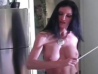 Femdom spanking action