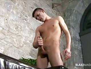 Twink boy whips his cock out