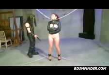 crazy whipping and submission