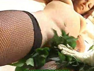Milking nipples and nettle spanking
