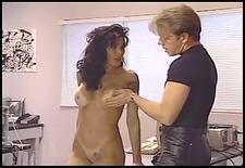 hottie spanked hard by corporalist