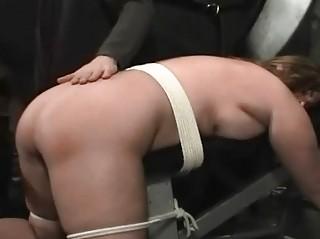 BBW Brutal Spanking In Stockings