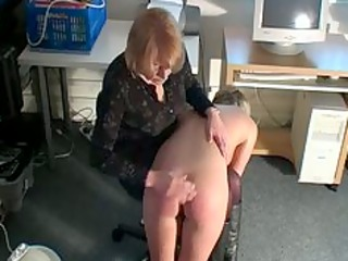 bend over blondie