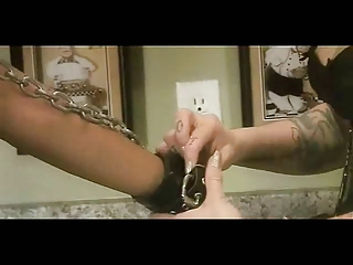 Interracial Lesbian Whipping