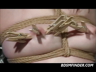 Tied Caned Whipped And Toyed