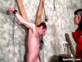 extreme action with naked slave his ass part4