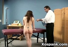 wild naughty gal in amazing spanking mature
